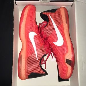 Kobe 10 hot lava super rare